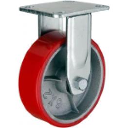 Серия 915 - неповоротные колеса, полиуретан, чугун